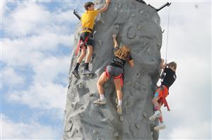 students climbing pic 2